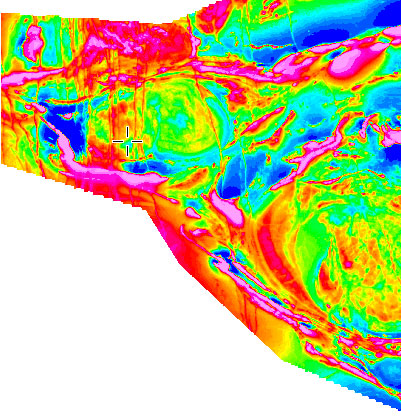 Geophysical Surveys AnomalyMap