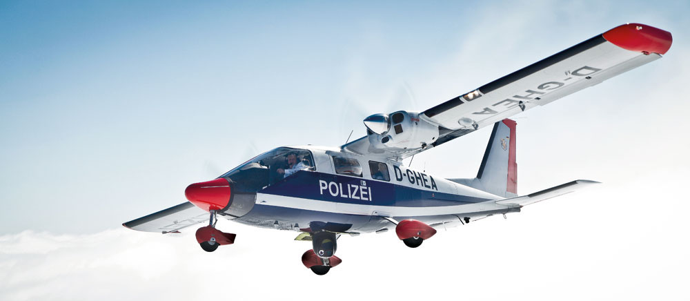 Vulcanair P68 for Police missions
