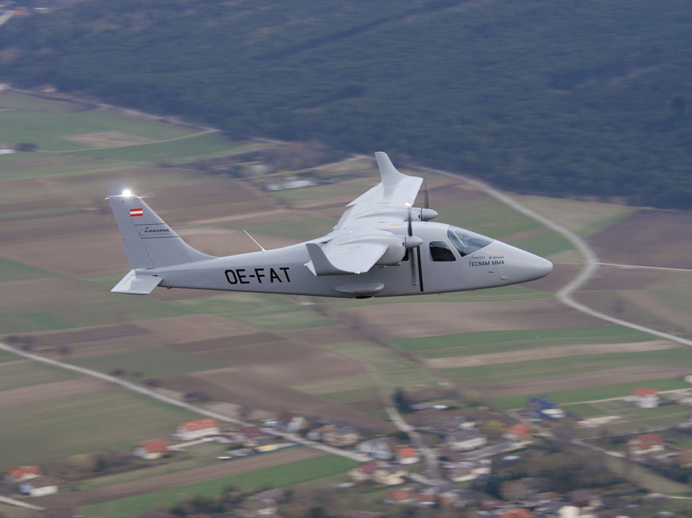 Tecnam MMA in mapping mode